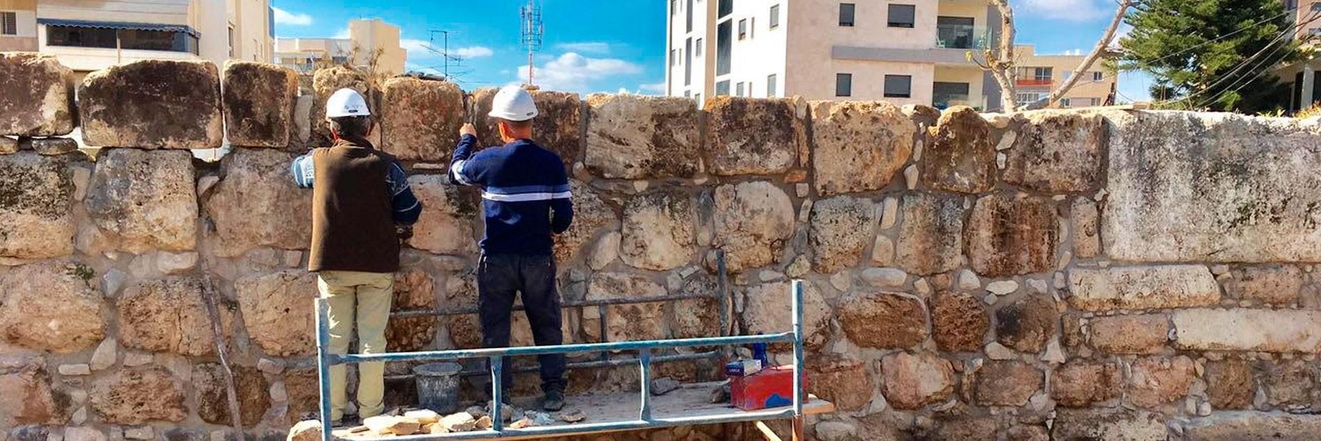 עדנה מחודשת למצודה העתיקה בתל-עפולה