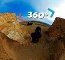מסע אל אתרי המורשת הלאומית של ישראל ב-360°