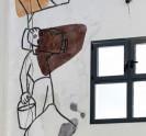 נפתרה תעלומת ציור הקיר בקיבוץ אפיקים